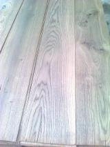 Engineered Wood Flooring - Multilayered Wood Flooring - Top layer fumed oak color dark or light brown