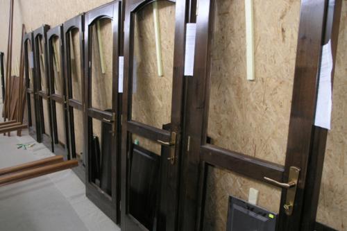 Componentes Para Portas Abeto - Whitewood À Venda