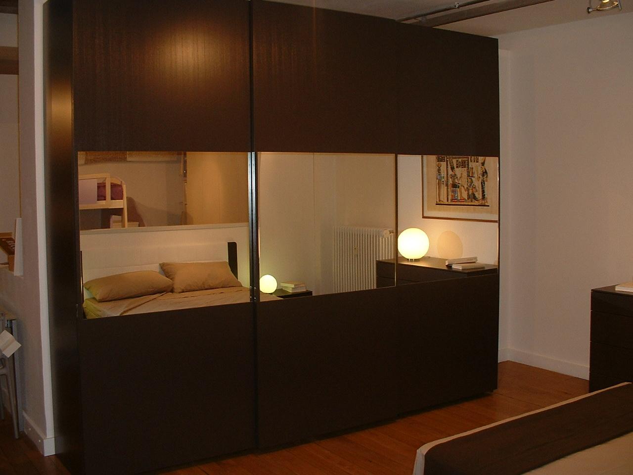 Camera da letto con struttura tamburata