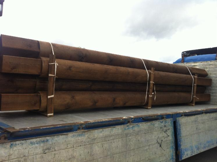 Machine-rounded-logs-