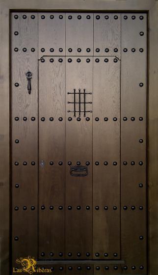 Puertas rusticas de madera for Puertas exterior madera rusticas precios