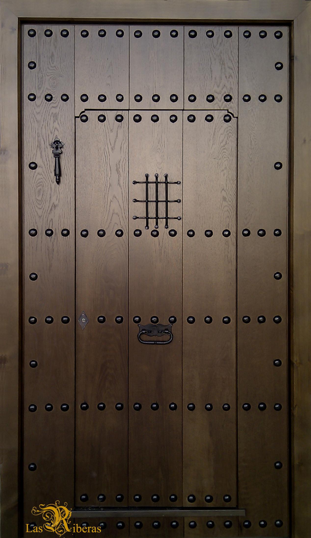 Puertas rusticas de madera for Puertas de madera en oferta