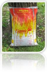 Firelogs - Pellets - Chips - Dust – Edgings FSC - Vendita all'ingrosso pellets Flamì. Pellets all'ingrosso