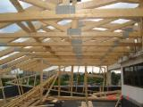 Precut Roof Framing Wooden Houses - Wooden Houses Fir  1.0 ha from Romania