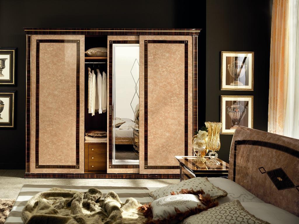Camera da letto di design collezione rossini for Pezzi di arredamento