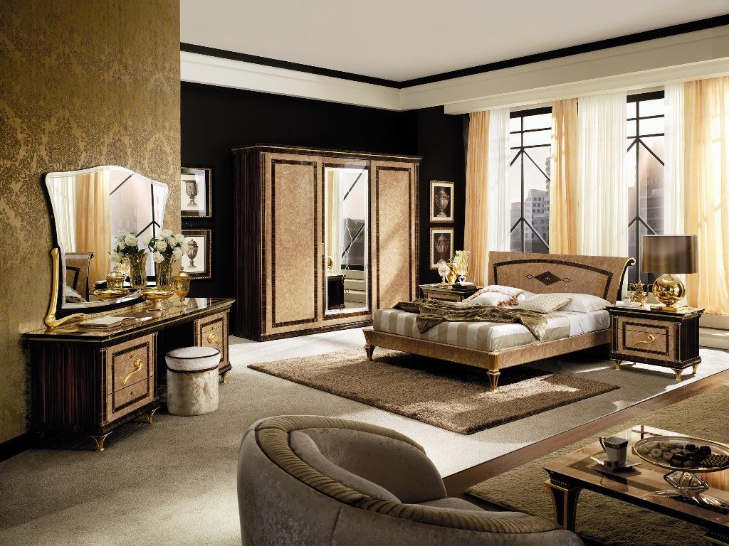 Camera da letto di design collezione rossini for Marche arredamento design