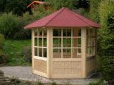 Buy Or Sell Wood Kiosk - Gazebo - Spruce  Kiosk - Gazebo from Romania