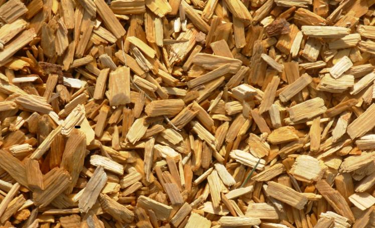 Wood chips briquets charcoal shavings saw dust