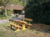 Art & Crafts/Mission Garden Furniture - Art & Crafts/Mission Oak, Brown Ash Natur Oder Holzlasur Garden Sets Germany