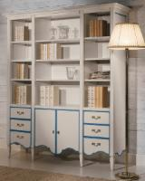Living Room Furniture Romania - Country, Beech (Europe), Bookcase, Neamt, 120.0 - 150.0 pieces Spot - 1 time