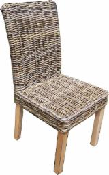 Wholesale  Dining Chairs Contemporary - Rattan Furniture - grey barstool