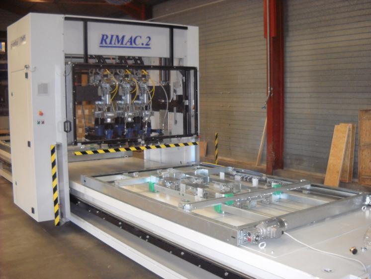 Used Rimac Punto TM5 2018 Nailing Machine For Sale Italy