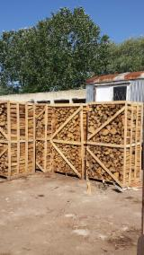 Firewood - Chips - Pellets Supplies Ash firewood in pallets 2+m3