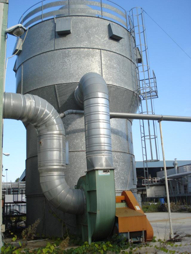 Dust extraction, filter, Extraction Silo