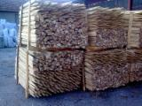 Cylindrical Trimmed Round Wood - ACACIA STAKES