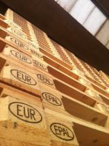 Palettes - Emballage - Vend Euro Palette EPAL Nouveau NIMP 15 Italie