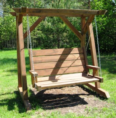. Handmade Garden Furniture