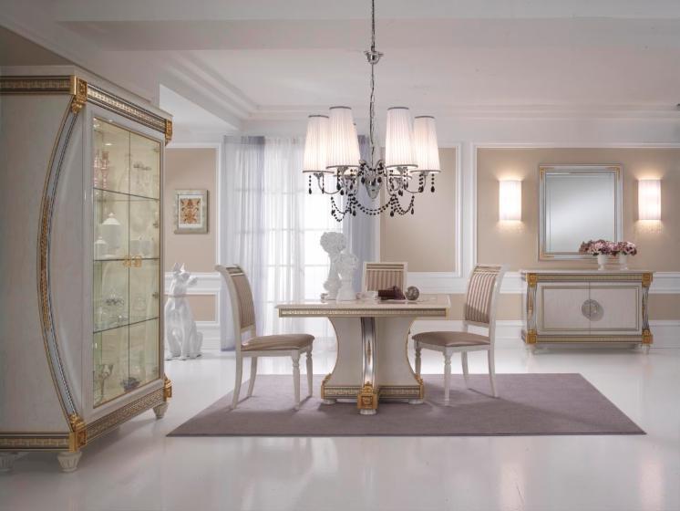 Salle manger classique de luxe for Salle a manger italienne