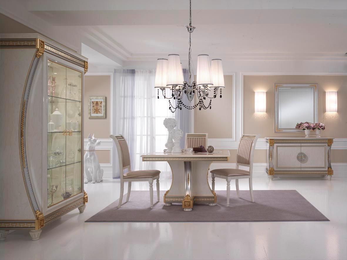 Set Sala Da Pranzo Traditional Design / Classique Design 1 100 Pezzi #715E4D 1181 886 Mobili Da Sala Da Pranzo Moderni