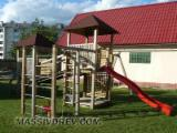 Children swings and playgrounds