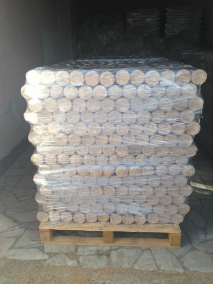 ISO-9000 Buche, Eiche Holzbriketts 9 cm
