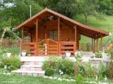 Casă Cu Schelet Din Lemn - Construim case din lemn,casute de gradina,mobilier gradina