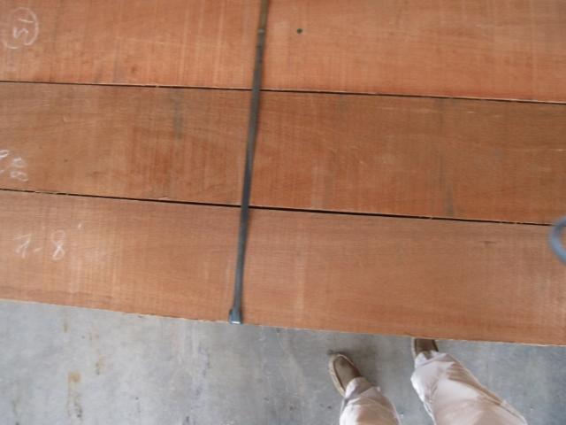 Red meranti sawn timber lumber
