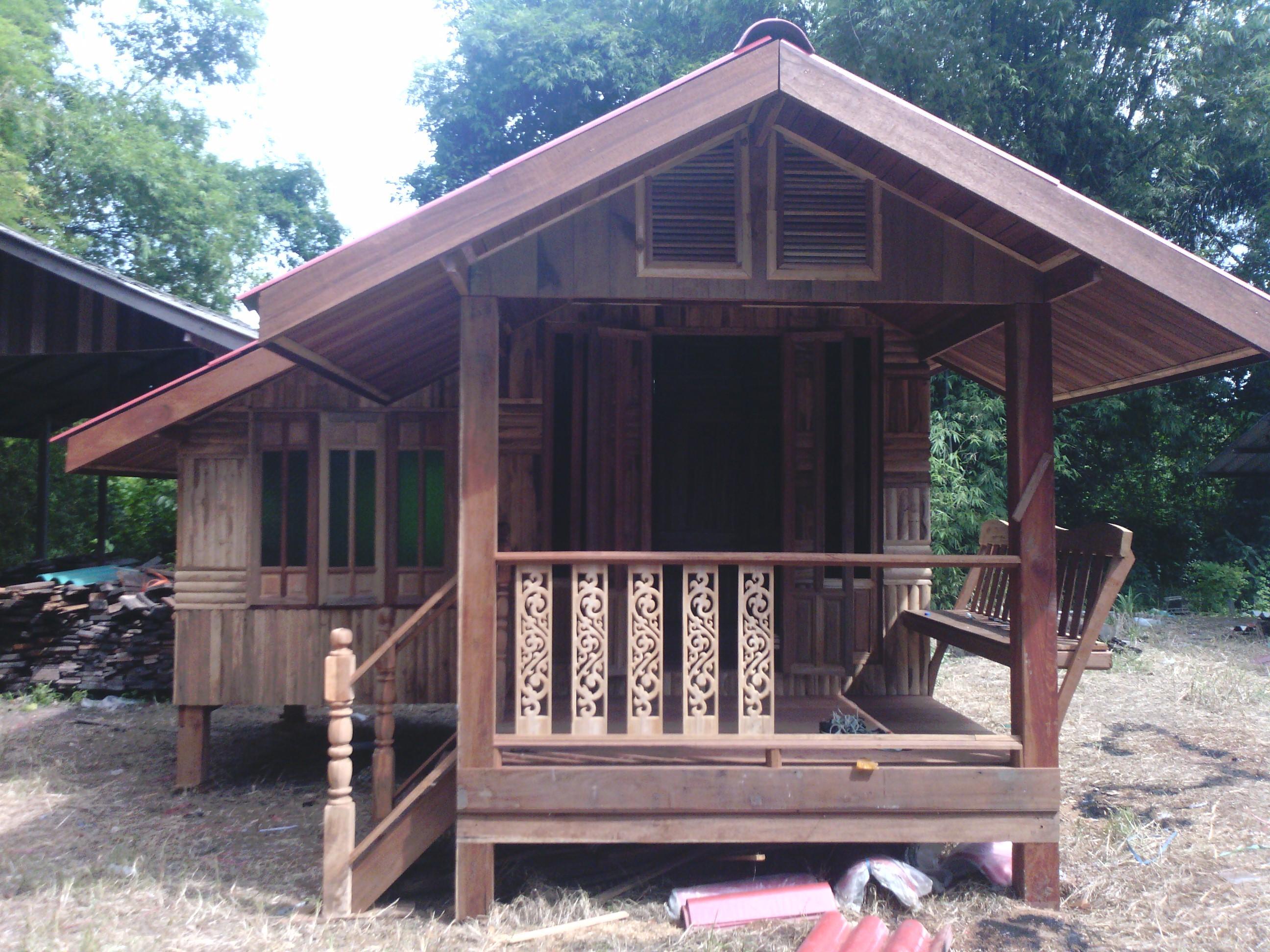 木板做的房子图片