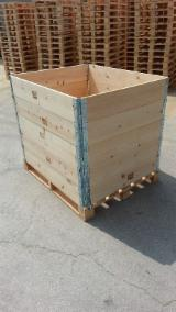 Wooden Pallets For Sale - Buy Pallets Worldwide On Fordaq - Pallet Collar New- High Quality