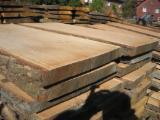 Hardwood  Unedged Timber - Flitches - Boules Poland - Loose, Oak (European)