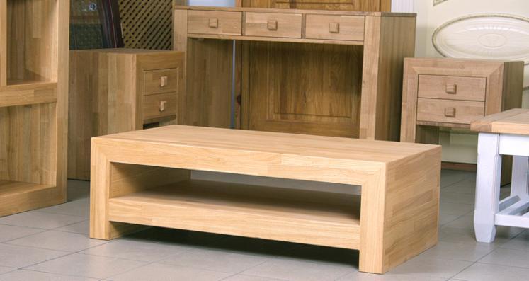 muebles de oficina de madera de roble macizo