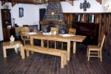 Dining room sets of oak.