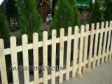 Garden Products - Wooden fences different types and dimensions