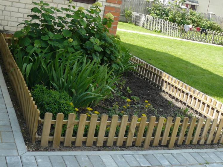 Emejing Bordure Bois Pour Jardin Potager Images - House Design ...