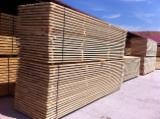 Whitewood sawn timber, KD, square edged, AB grade