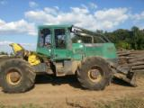 Skidding - Forwarding, Articulated Skidder, Timberjack
