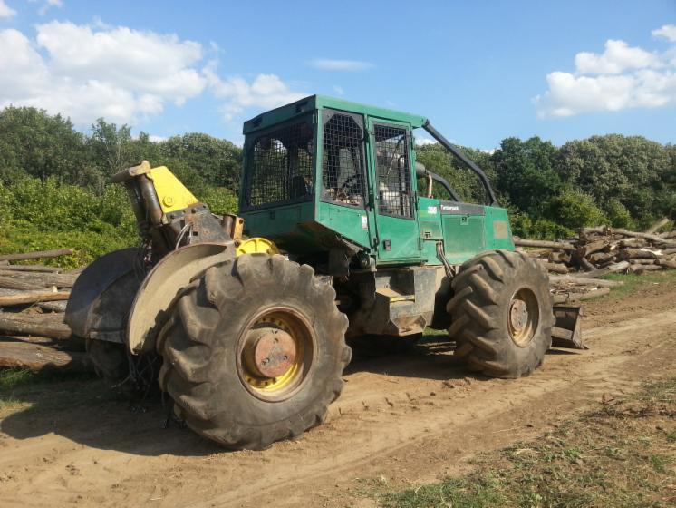 Used Timberjack 360 18 07 1996 Articulated Skidder For Sale Romania