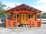 Wood Houses - Precut Timber Framing - Wooden Houses Fir (Abies alba, pectinata) -- ha from Romania