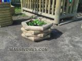 Garden Products - Flower pots from pine