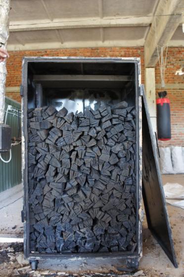 Изготовления древесного угля своими руками