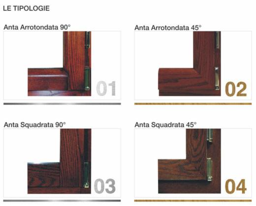 Vendita e posa finestre in legno alluminio finestre in rovere - Finestre in alluminio e legno ...