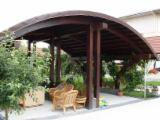 Muebles - Venta Conjuntos De Jardín Diseño Madera Blanda Europea Abeto (Picea Abies) - Madera Blanca Rumania