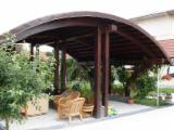 Mobiliario De Jardín En Venta - Venta Conjuntos De Jardín Diseño Madera Blanda Europea Abeto (Picea Abies) - Madera Blanca Rumania