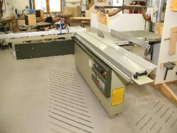 For Sale Sliding Table Saw Scm Si 320