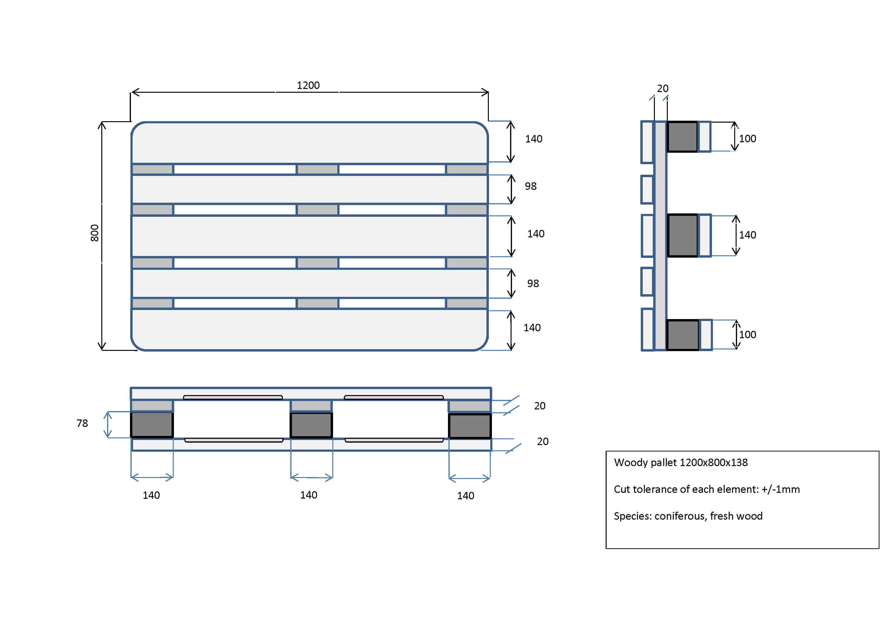europalette neu. Black Bedroom Furniture Sets. Home Design Ideas