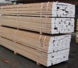 Hardwood  Sawn Timber - Lumber - Planed Timber - German Beech Planks, FAS, S2S, KD, 4/4-12/4 thick