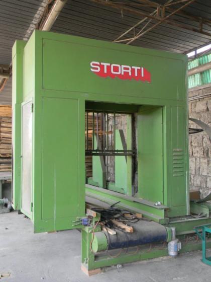 Vend machine couper les d s de palette storti occasion italie - Machine a couper le bois ...