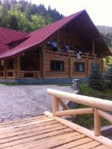 Canadian Log House Wooden Houses - Fir Log Houses