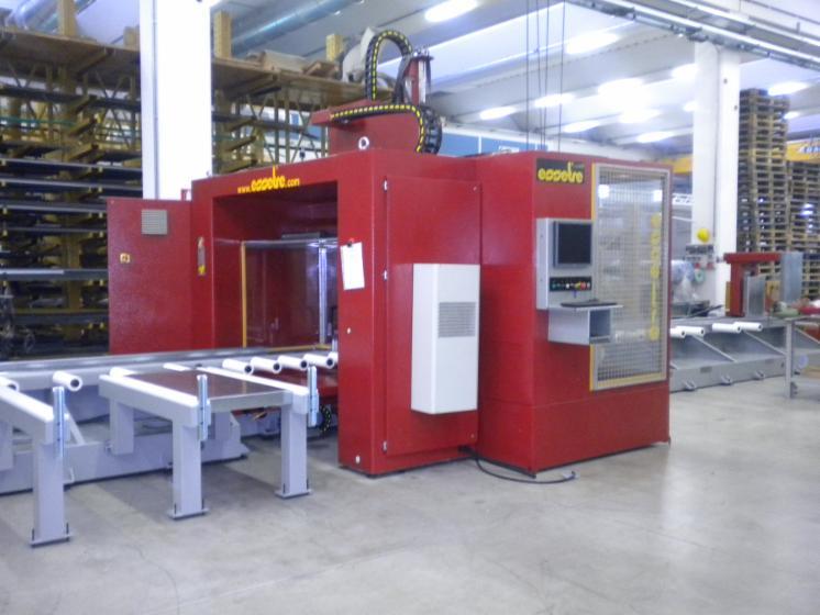 Centre à Commande Numérique, Centre de travail CNC