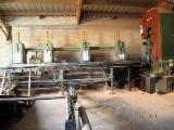 Belgium Woodworking Machinery - Used BRENTA PROGRES 1997 Log Band Saw Vertical For Sale Belgium